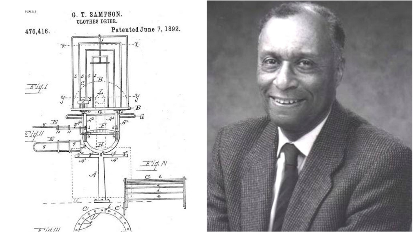 Meet George T Sampson Black Man Who Invented America's First Automatic Clothes Dryer