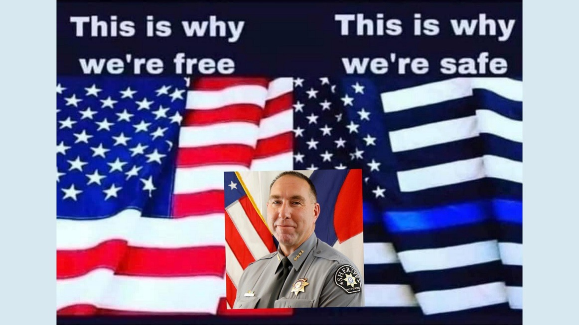 Reactions Flood Absurd Post Made By Weld County Sheriff Steve Reams About Police Blue Flag - What Do You Think