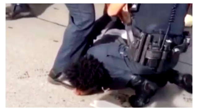 White Officer Kneels on Neck Of Asthmatic 16-Year-Old Black Boy; Family Files Lawsuit