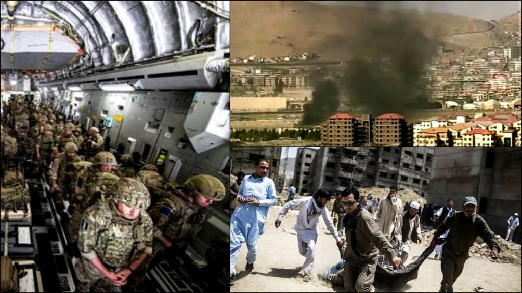 12 US Military Officers Have Been Killed In Bomb Blast At The Kabul Airport, Afghanistan