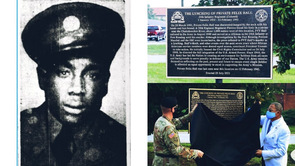 19-Year Old Black Soldier Who's Lynching on a Military Base Remains Unsolved Since 1941 [Felix Hall]