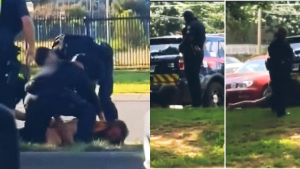 Atlanta Officer Who Delivered Head Kicks To Handcuffed Mentally Ill Woman Has Been Suspended Without Pay