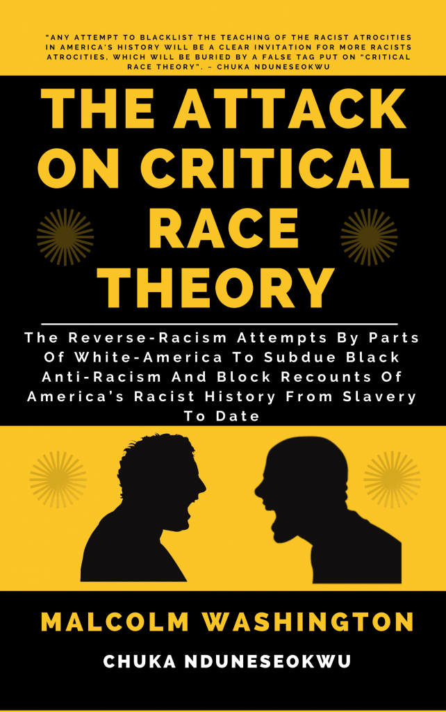 New Book Which Defends Critical Race Theory And The Teaching Of America's Racist History In Schools