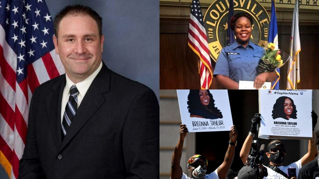 Detective Myles Cosgrove Who Fatally Shot Breonna Taylor Starts Crowdfunding To Fund His Retirement