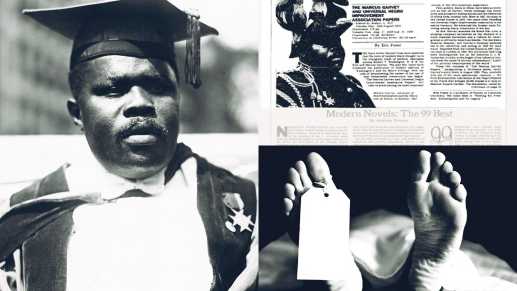 How Marcus Garvey Read His Own Obituary In A Newspaper And Mysteriously Died Two Weeks Later