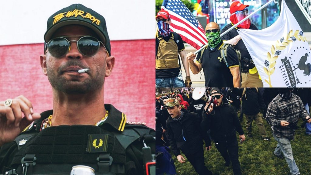 Leader Of Proud Boys Enrique Who Burned BLM Flag Sentenced To 5 Months In Prison