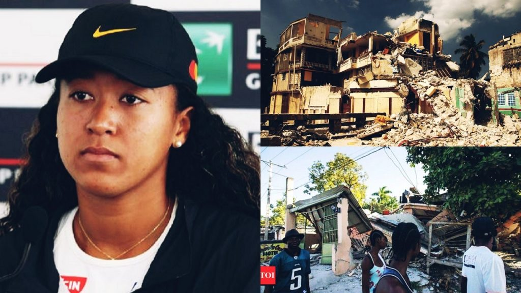 Naomi Osaka Donates Prize Money To Relief Efforts As Death Toll Rises To Over 1200