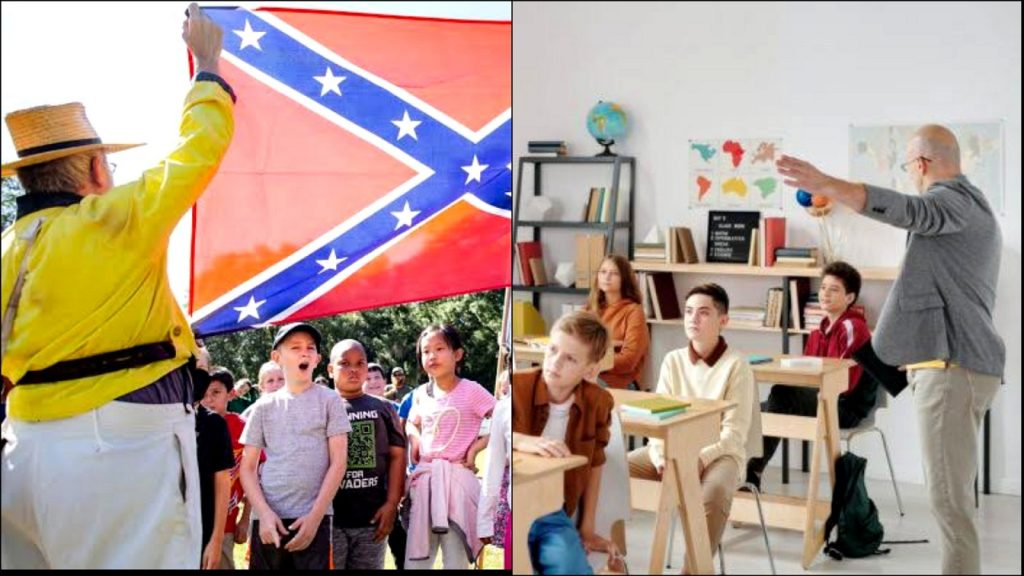 Numerous Private Schools Use Christian Textbooks That Praise the Confederacy and Call Black Activists the Root Cause of Racial Discord