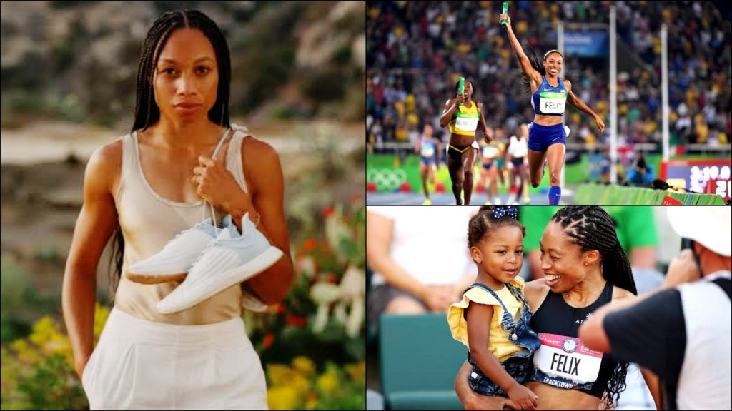 Olympian Who Nike Cut Her Pay By 70% For Getting Pregnant Quits & Launches Her Own Shoe Brand [Allyson Felix]