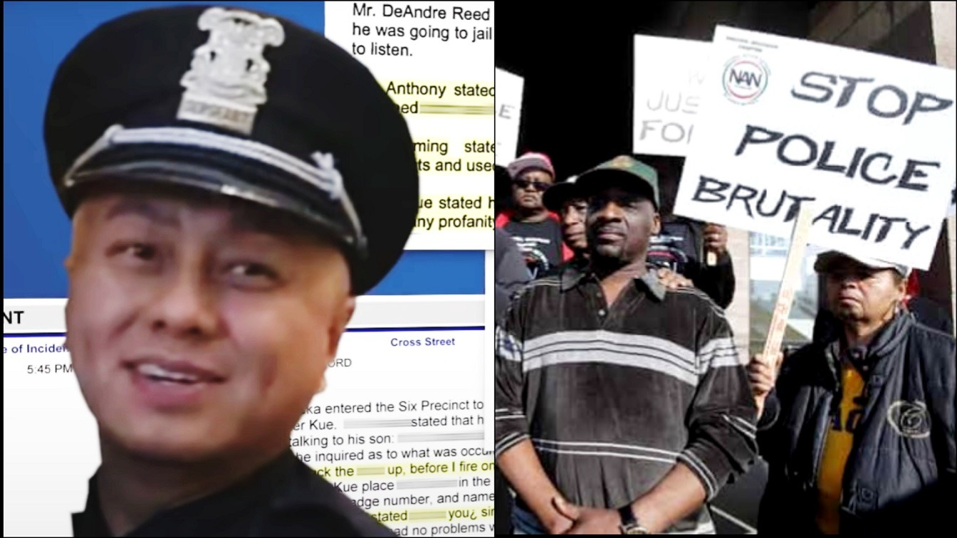 Racist Cop who has 85 Complaints and Cost Taxpayers $830K from Lawsuits Has Been Taken Off Detroit Streets