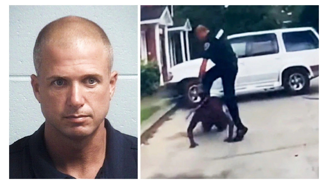 South Carolina Cop Charged For Stomping Black Man's Head Into Concrete After 911 Caller Mistook The Man's Stick For A Weapon