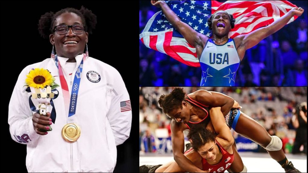Tamyra Mensah Stock Becomes The 1st Black Woman From The US To Win Gold At Wrestling