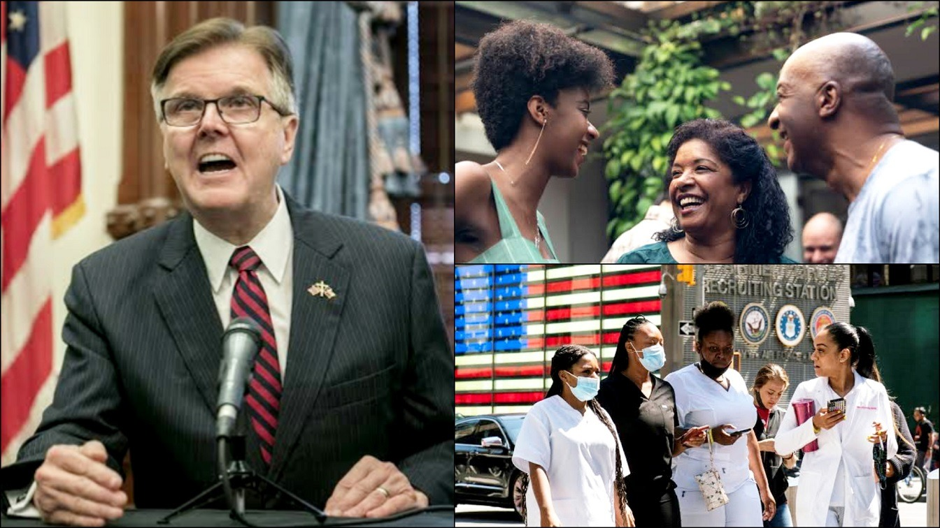 Texas Lt Governor Dan Patrick Has Blamed The Black Community For COVID 19 Surge In The US