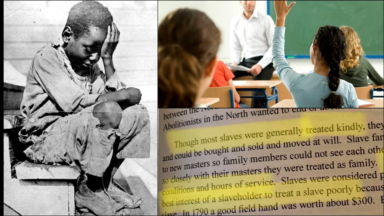 The Utah Learning Center Is Teaching Students That Most Slaves Were Treated Kindly