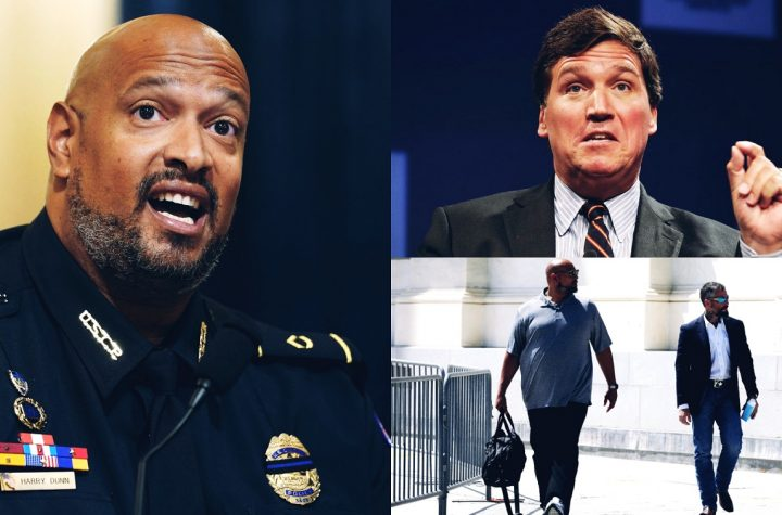 Tucker Carlson Faces Backlash After He Called Capitol Police Officer Harry Dunn An Angry Activist
