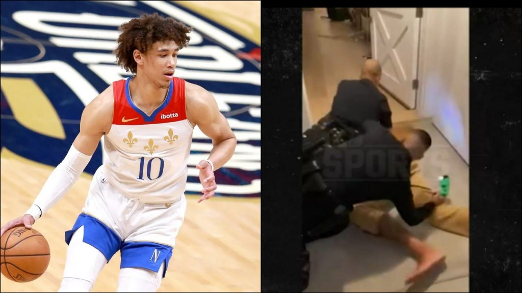 White Officers Tased And Punched New Orleans Pelicans' Jaxson Hayes In Arrest Video, Excessive Force Investigation Launched