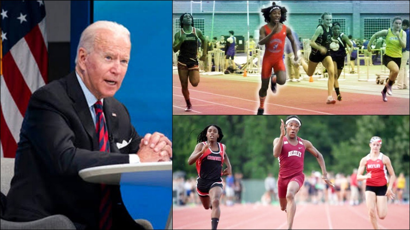 20 US States Sue Biden For Allowing Biological Males Compete In Girls Sports