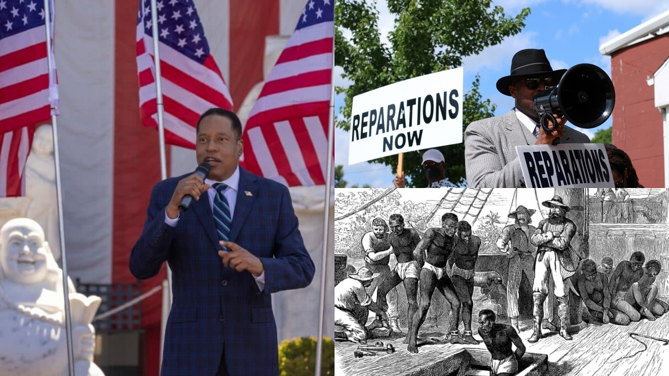 Black Conservative Larry Elder Says Slave Owners Deserve Reparations For Losing Their Property