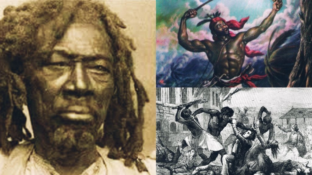 Boukman, Maroon Leader Who Had His Head Cut Off By The French For Leading 1791 Haitian Revolution