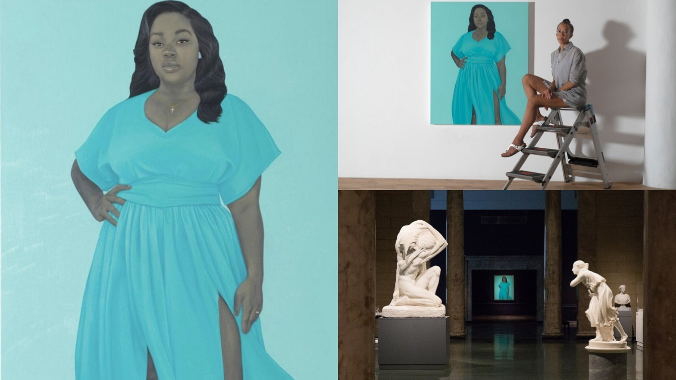 Breonna Taylor's Painting By Amy Sherald Now Hangs In Washington's National Museum of African American History