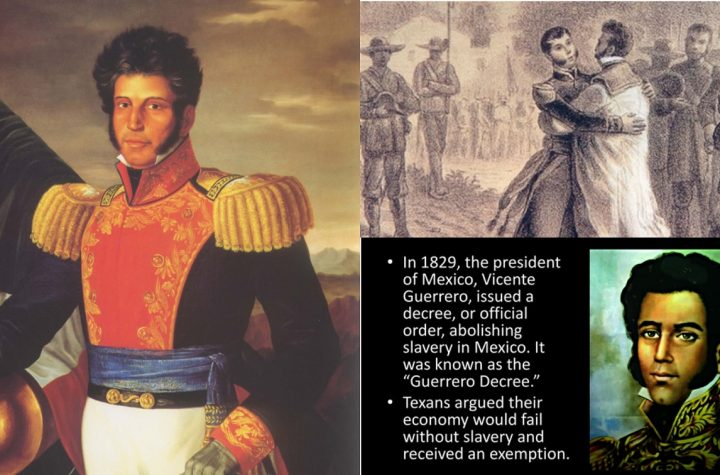 History Of Vicente Guerrero The First Black Indian To Rule Mexico As A President