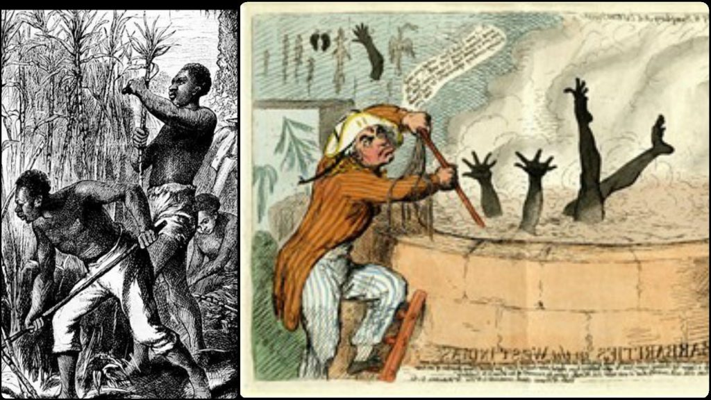 How Enslaved Africans Were Dipped In Hot Sugar Syrup As Punishment During Slavery
