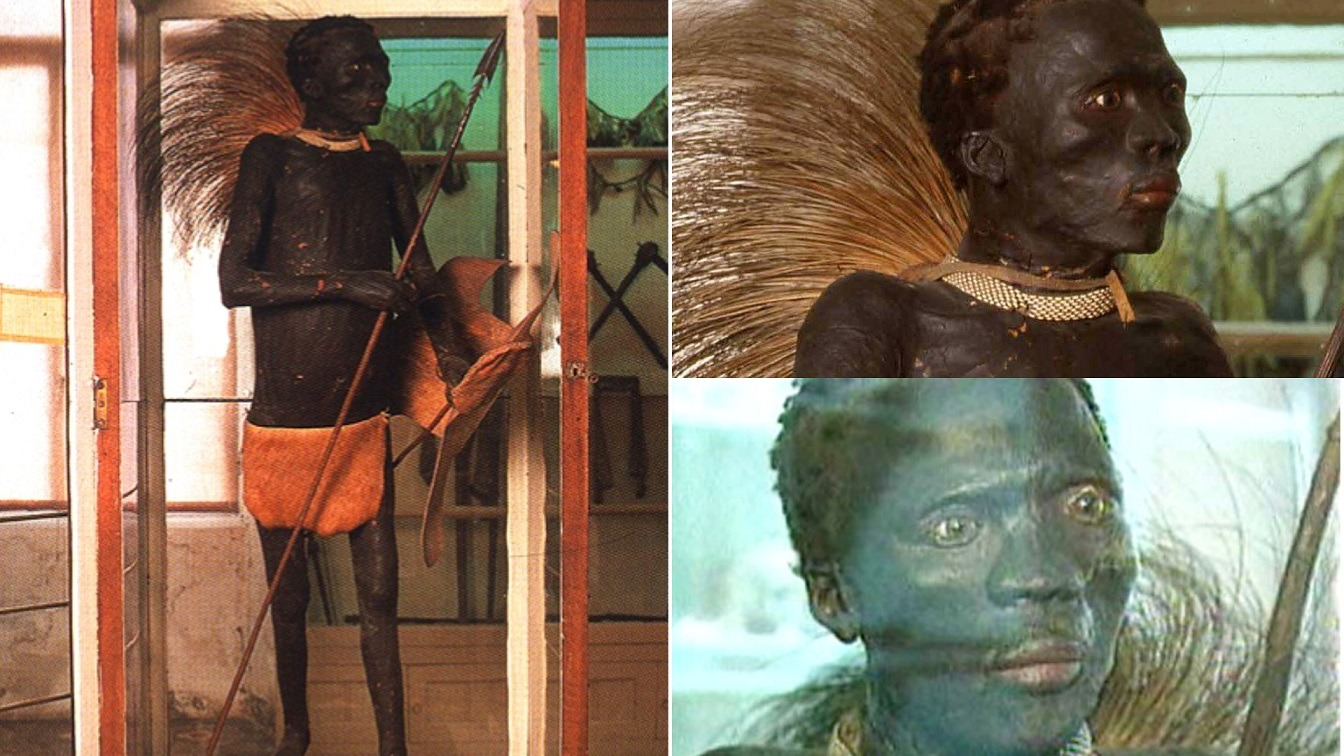How French Stole Buried Body Of African Warrior & Displayed Him As Wild Animal In Europe