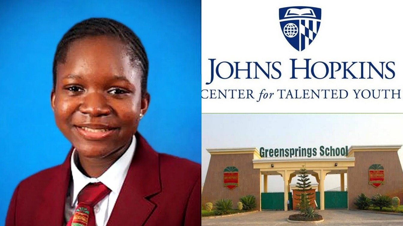 Nigerian teen Fareedah Oyolola named worlds brightest by Johns Hopkins Center for Talented Youth