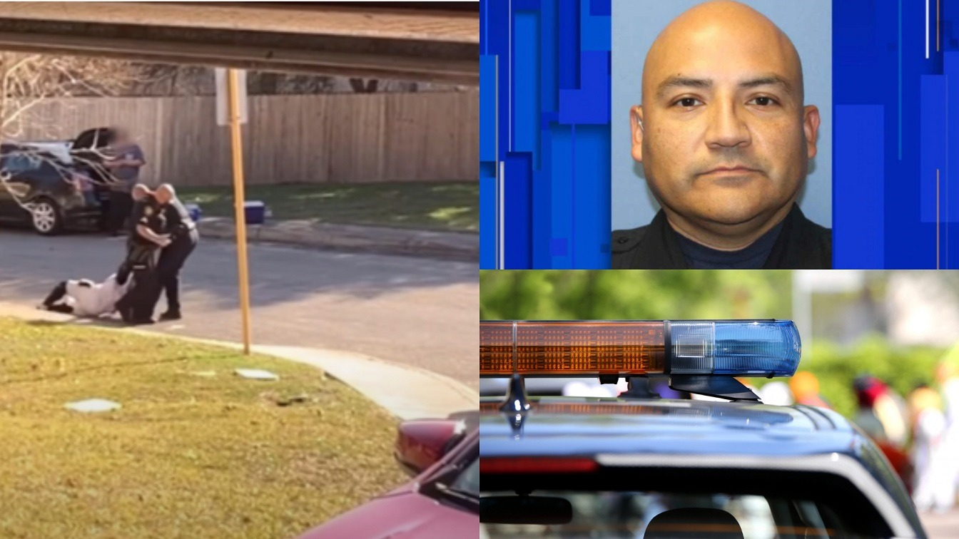 Texas Officer Seen Dragging Black Man Down The Street For Not Showing ID