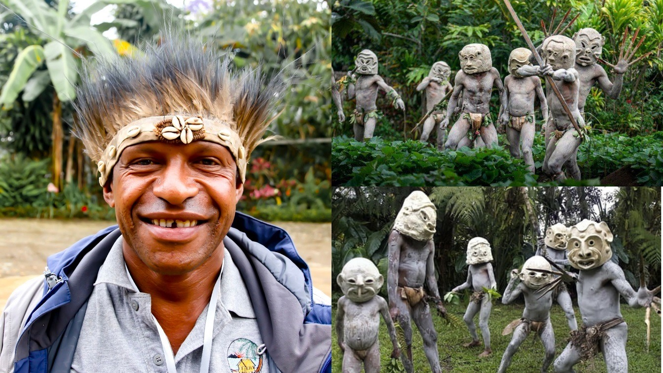 The Asaro Mud Men - Indigenous People Who Win Battles By The Power Of Human Imagination