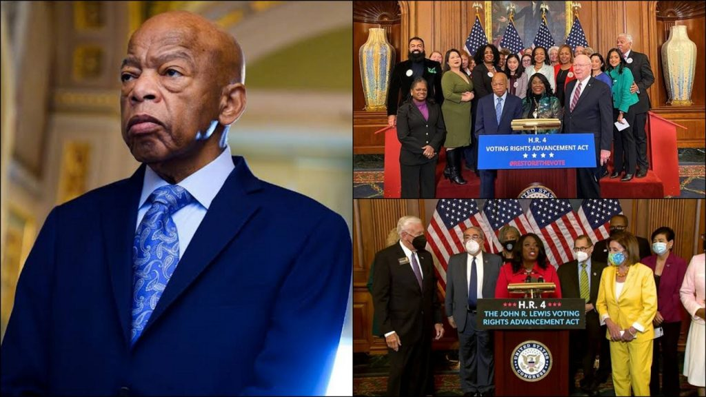 The House Of Representatives Has Passed John Lewis Voting Rights Advancement Act