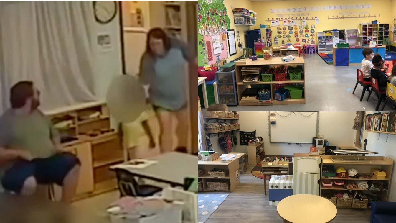 Two White Ohio Day Care Workers Violently Shove A Black 4 Year Old To The Floor