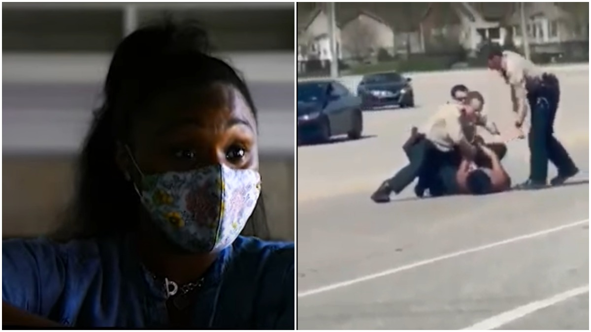 White Officers Tackled Black Woman To The Ground And She Had A Miscarriage
