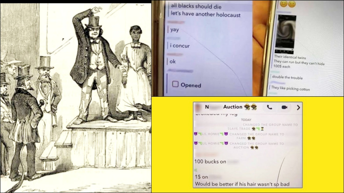 White Students Created A Slave Trade Online Group And Sold Black Classmates In Slave Auction