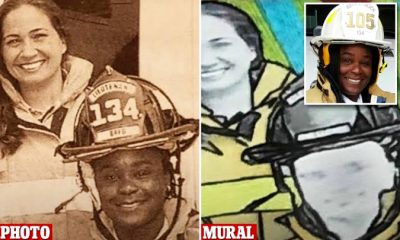 Black Female Firefighter Sues Florida City For Portraying Her As White Woman In Mural