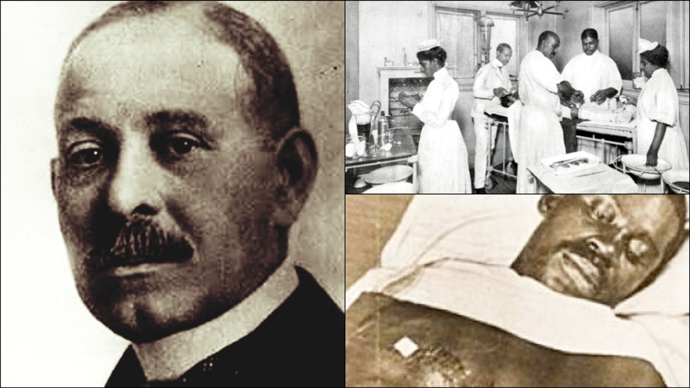 Black Surgeon Who Performed Worlds 1st Successful Open Heart Surgery In 1893 - Dr Daniel Hale Williams