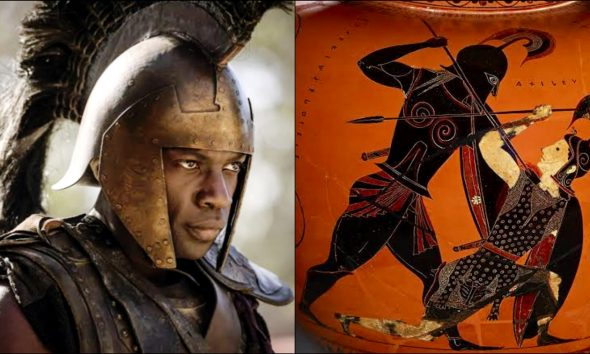 Historians Reveal That Achilles In Ancient Greek Mythology Was Black As Whites React