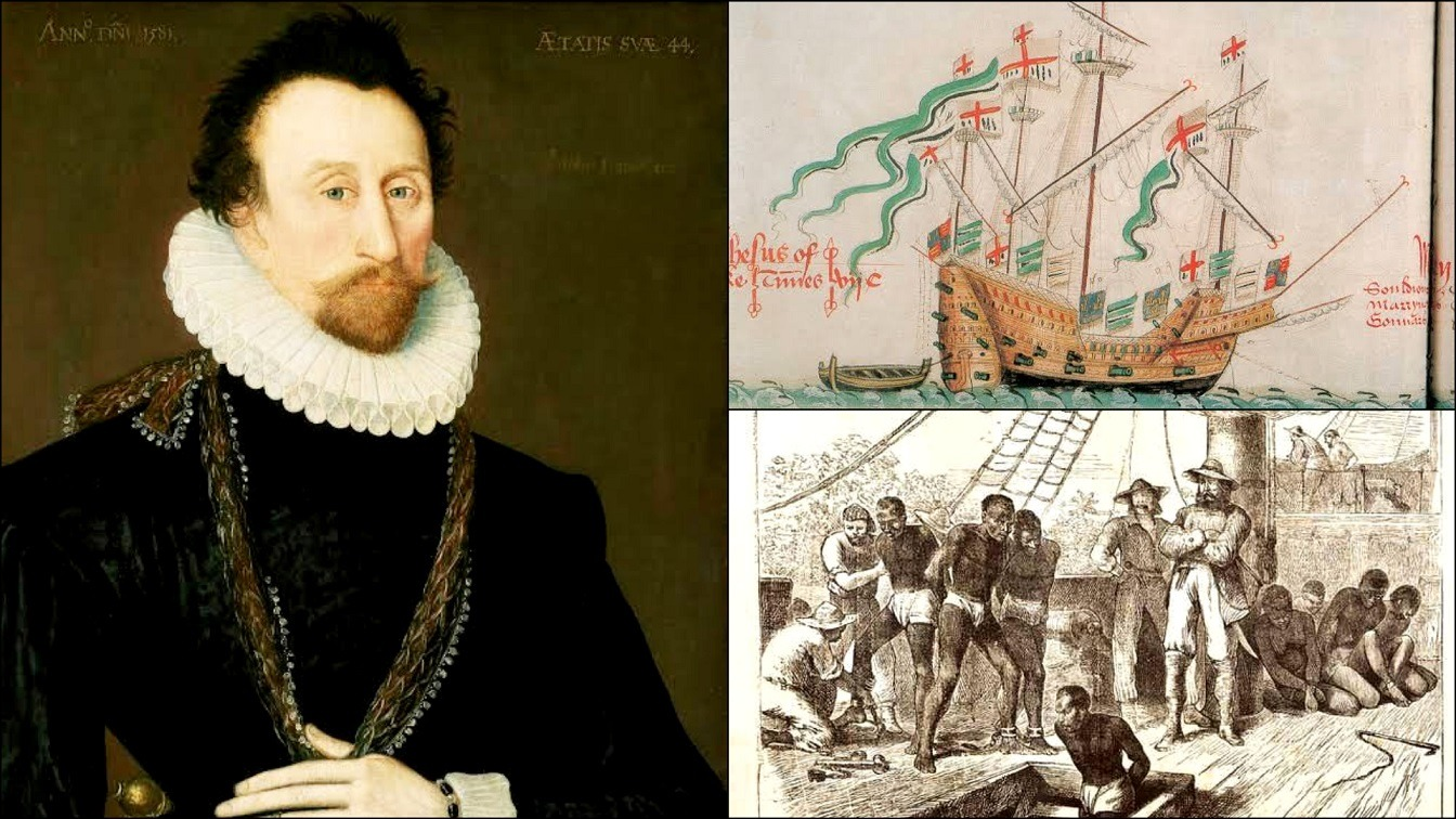 Pioneer Slave Trader Who Deceived Africans With Jesus Salvation And Lured Them On His Jesus Ship William Hawkins