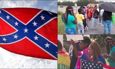School Suspends Black Students For Protesting White Students' Racial Slurs & Confederate Flag