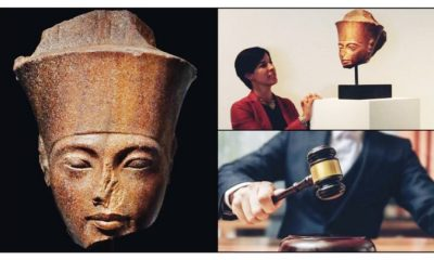 Where Is Stolen Statue Of Pharaoh Tutankhamun sold At a London Auction In 2020 For $6Million
