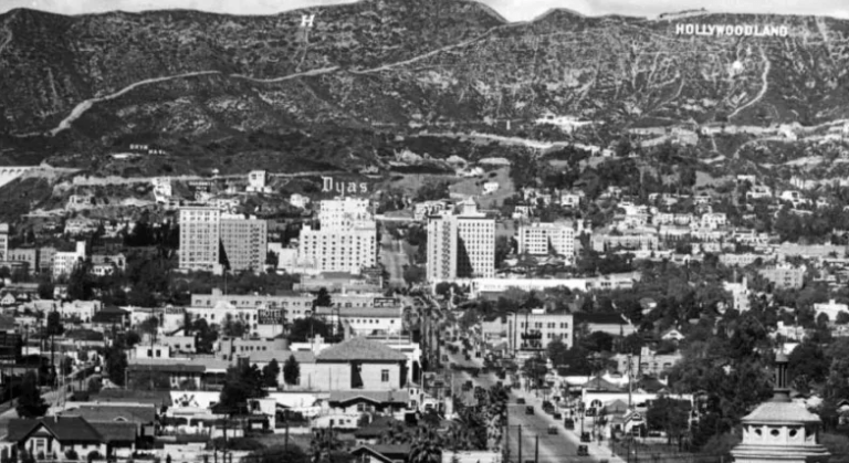 famous Hollywood neighborhood started as a segregated white town
